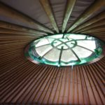 Jeanna Lindfield works in a fabulous Yurt